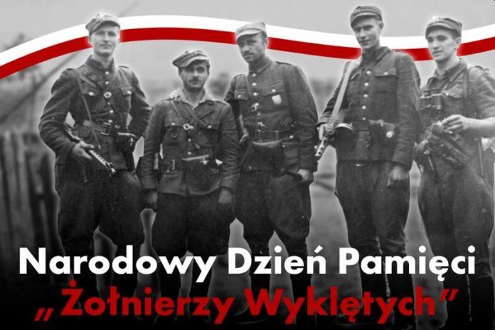Narodowy Dzień Pamięci Żołnierzy wyklętych. Plakat www.sejm.gov.pl.