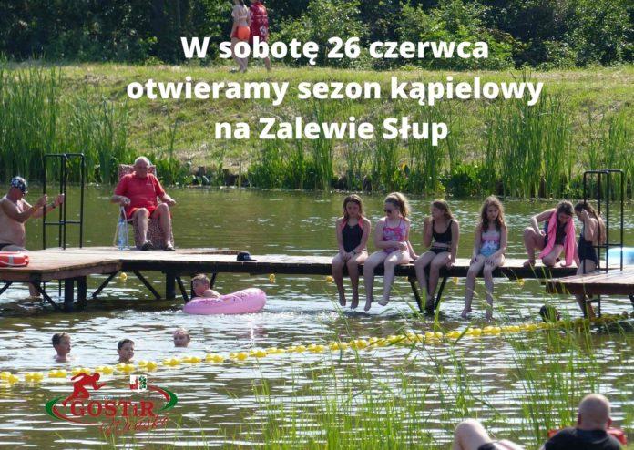 W sobotę 26 czerwca otwieramy sezon kąpielowy na Zalewie Słup