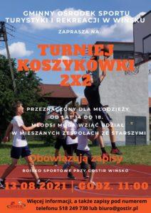 Turniej Koszykówki 2x2